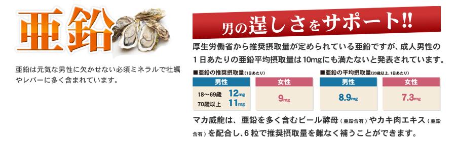 マカ 濃縮マカが男の元気を刺激!!